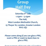 PRG Day on Sat 6th July 2013 at Hinde St.